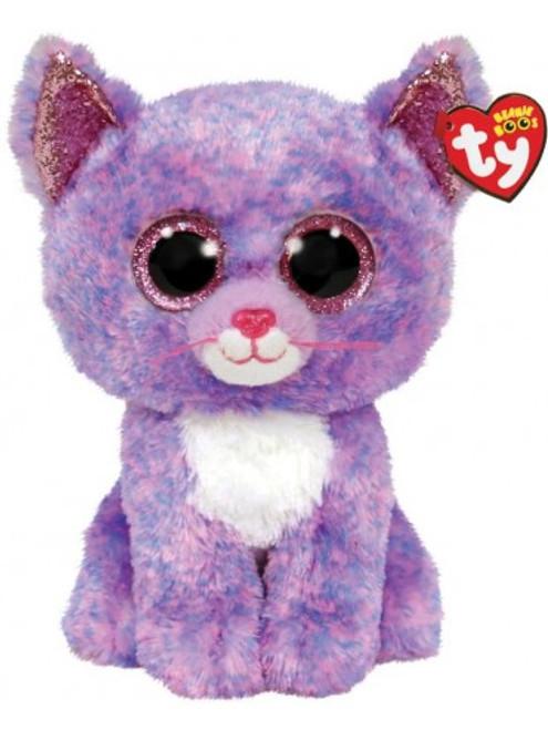 Beanie Boos Medium - Cassidy Lavendar Cat