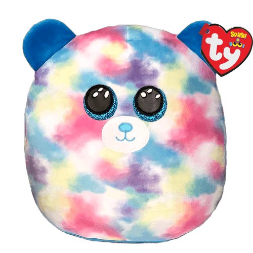 Beanie Squish A Boo 14 Inch - Hope Bear Pastel
