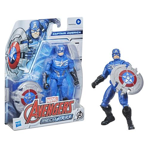 Marvel Avengers MechStrike 6 Inch Figure - Captain America