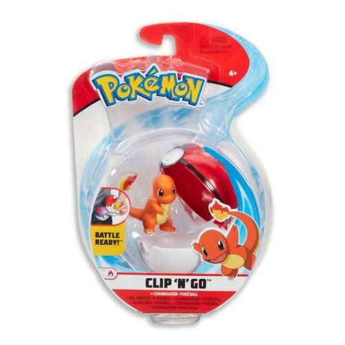 Pokemon Clip N Go - Charmander + Pokeball