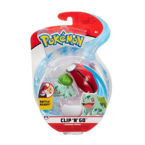 Pokemon Clip N Go - Bulbasaur + Pokeball
