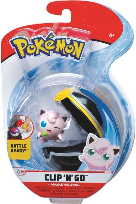 Pokemon Clip N Go - Jigglypuff + Heal Ball