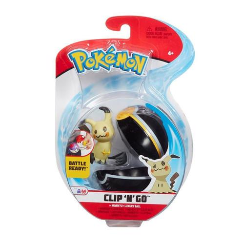Pokemon Clip N Go - Vulpix + Luxury Ball