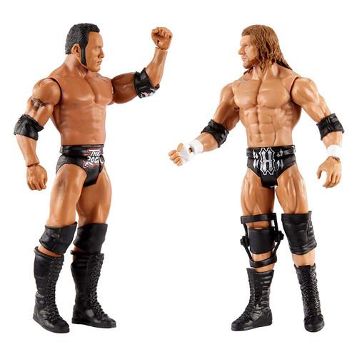 WWE Championship Showdown The Rock v Triple H