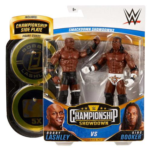 WWE Championship Showdown Bobby Lashley v King Booker