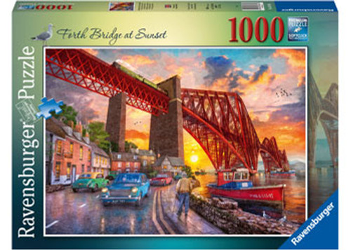 Ravensburger - Forth Bridge At Sunset Puzzle 1000 Piece
