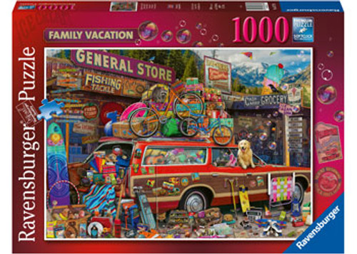 Ravensburger - Family Vacation Puzzle 1000 Piece