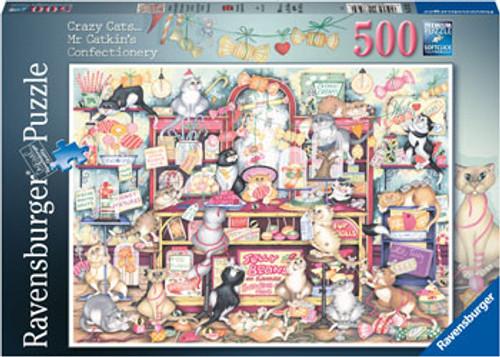 Ravensburger - Mr Catkins Confectionary Puzzle 500 Piece