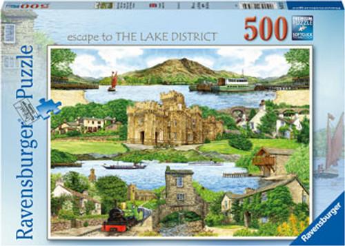 Ravensburger - Escape to The Lake District Puzzle 500 Piece