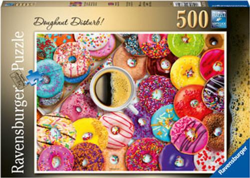 Ravensburger - Doughnut Disturb! Puzzle 500 Piece