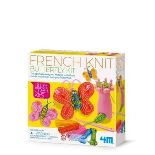 4M -  Little Craft Spool Knit Butterflies Kit