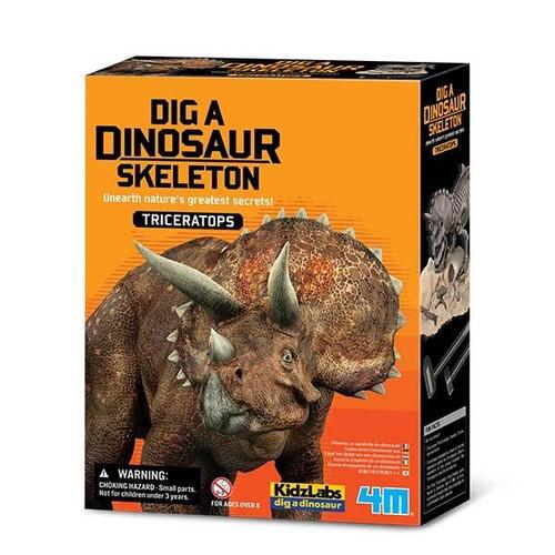 4M - Dig A Dinosaur Triceratops