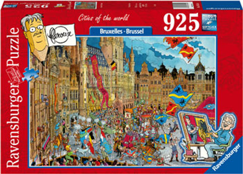Ravensburger - Bruxelles - Brussel Puzzle 925 Piece