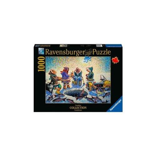 Ravensburger - Ice Fishing Puzzle 1000 Piece