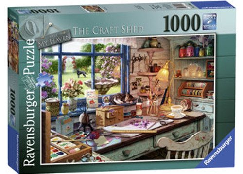 Ravensburger - My Haven No1 The Craft Shed Puzzle 1000 Piece
