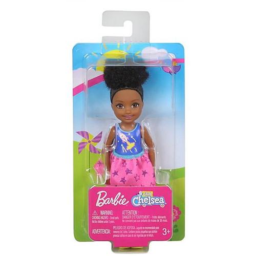 Barbie - Club Chelsea Doll - Girl Dark Hair Up