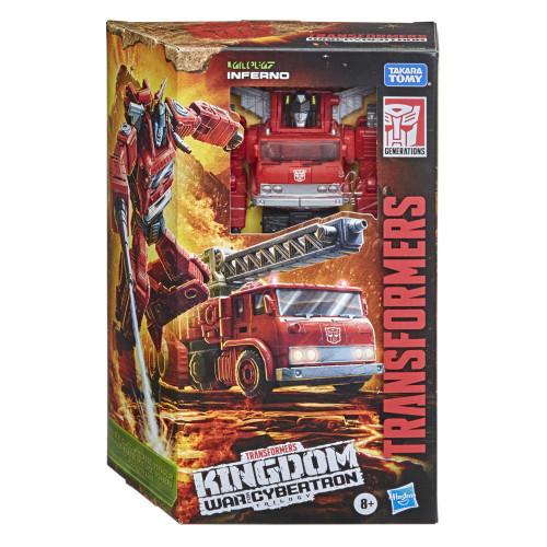 Transformers Generation WFC Kingdom - Inferno