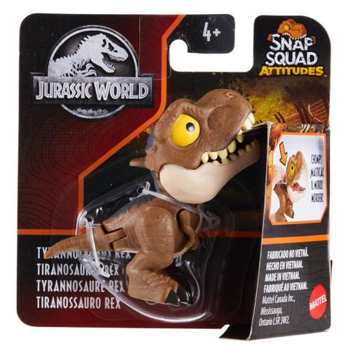 Jurassic World Snap Squad Attitudes - Tyrannosaurus Rex