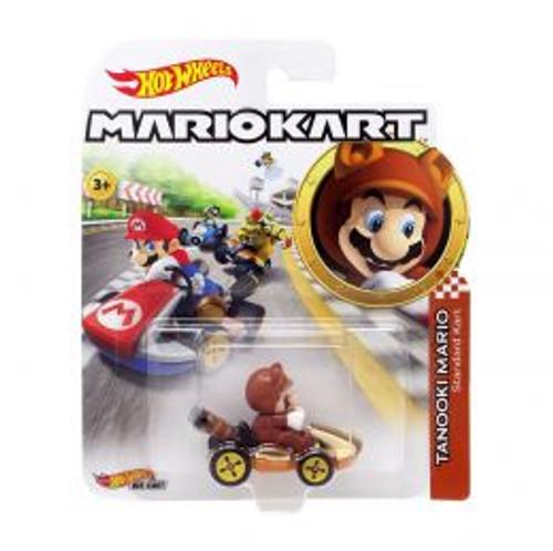 Hot Wheels Mario Kart - Tanooki Mario Standard Kart