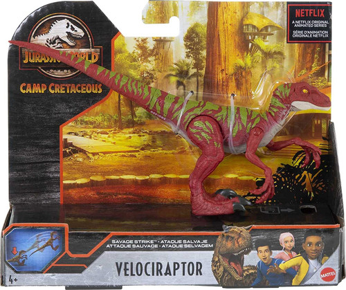 Jurassic World Savage Strike - Velociraptor