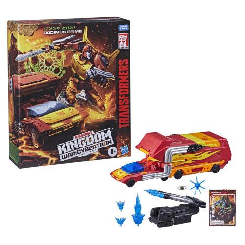 Transformers Gen WFC Kingdom Commander Class Rodimus Prime