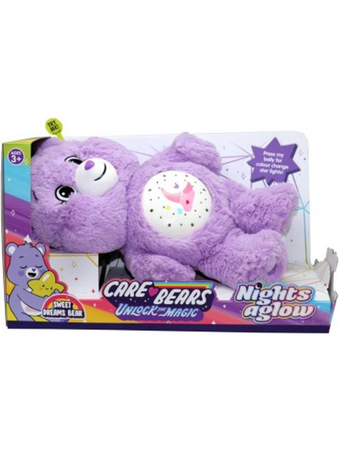 Care Bears Unlock The Magic Night A Glow - Lilac