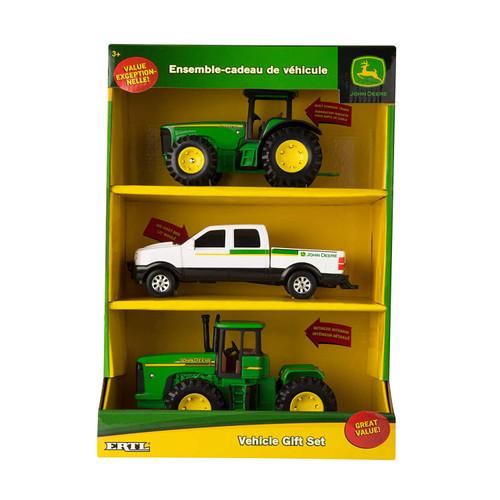 John Deere 3 Pack Vehicle Gift Set