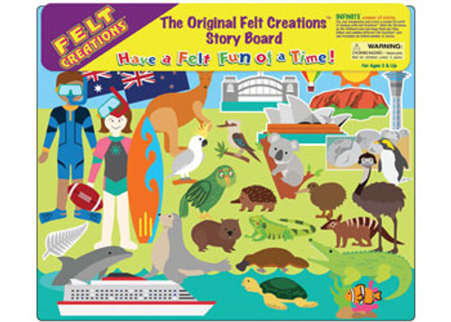 Felt Creations - Explore Australia & New Zealand