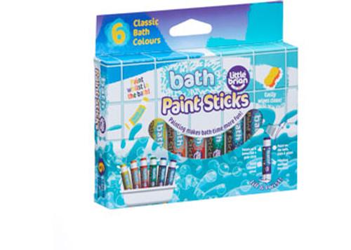 Little Brian - Bath Paint Sticks