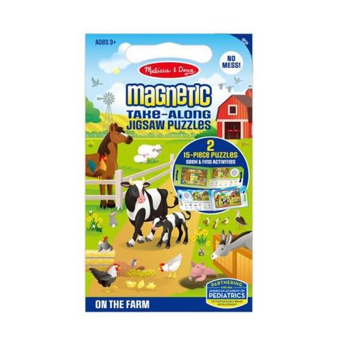 Melissa & Doug - Magnetic Jigsaw Puzzles  - On The Farm