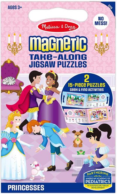 Melissa & Doug - Magnetic Jigsaw Puzzles  - Princesses