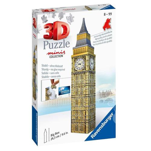 Ravensburger - Big Ben Mini 3D Puzzle 54 Piece