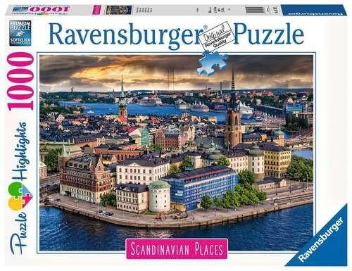 Ravensburger - Stockholm Sweden Puzzle 1000 Piece