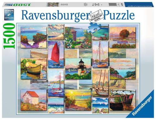 Ravensburger - Coastal Collage Puzzle 1500 Piece