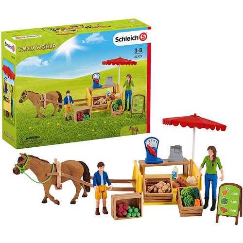 Schleich - Sunny Day Mobile Farm Stand