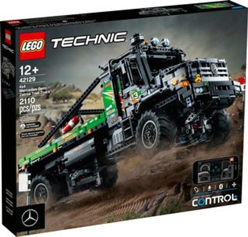 Lego Technic - 4x4 Mercedes-Benz Zetros Trial Truck App Cont