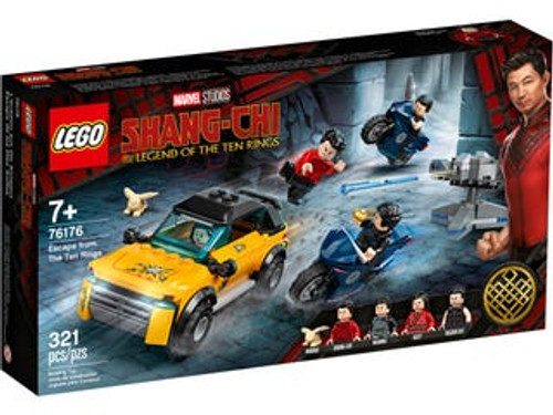Lego Marvel - Escape from The Ten Rings