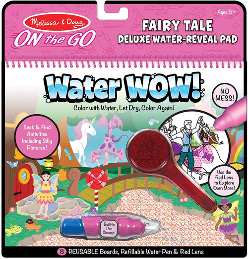Melissa & Doug On The Go Water Wow! Fairy Tale Deluxe