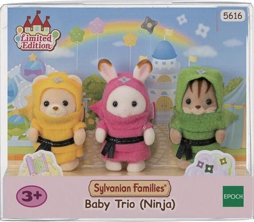 Sylvanian FamiliesBaby Trio (Ninja)