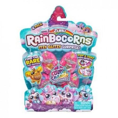 Rainbocorns Itzy Glitzy Surprise 4 Pack Series 2