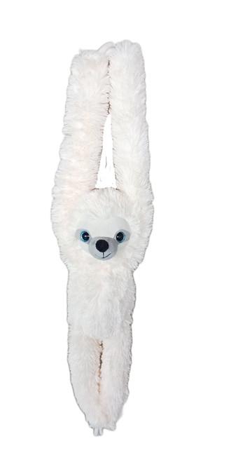 Hanging Sloth Snowy
