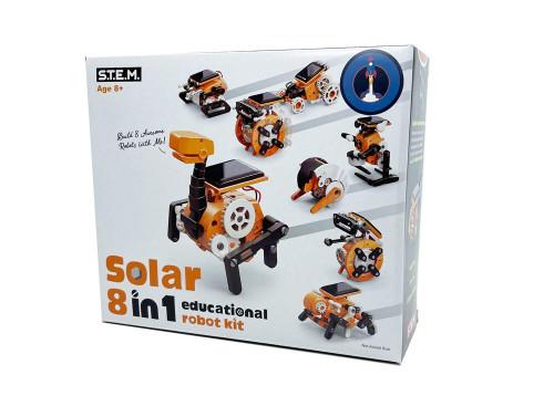 Johnco 8 In 1 Solar Educational Robot Kit