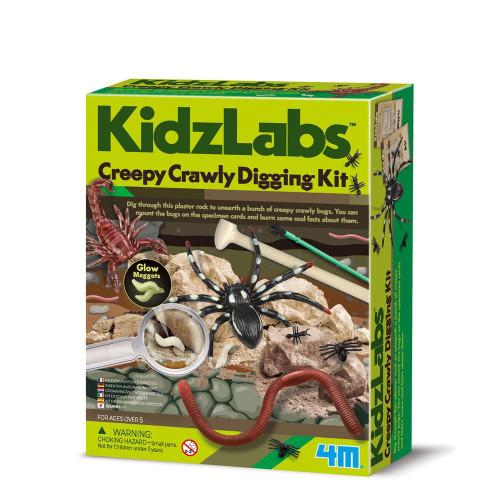 4M - KidzLabs Creepy Crawling Digging Kit