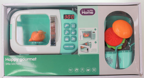 Happy Gourmet Microwave With Light and Sound