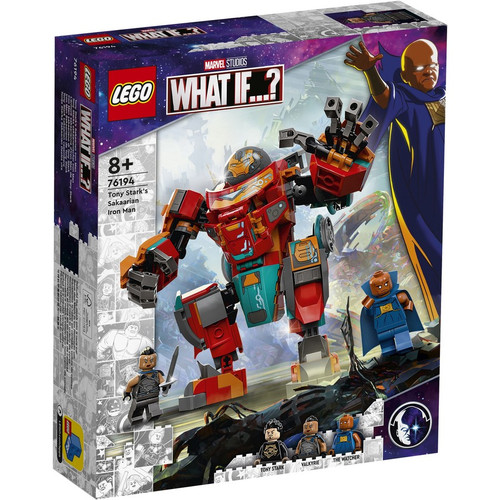 Lego Marve- Tony Starks Sakaarian Iron Man