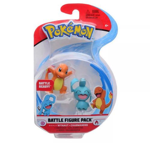 Pokemon Battle Figure Pack - Wynaut + Charmander