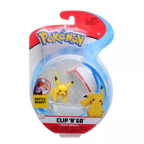 Pokemon Clip N Go - Pikachu + Premier Ball
