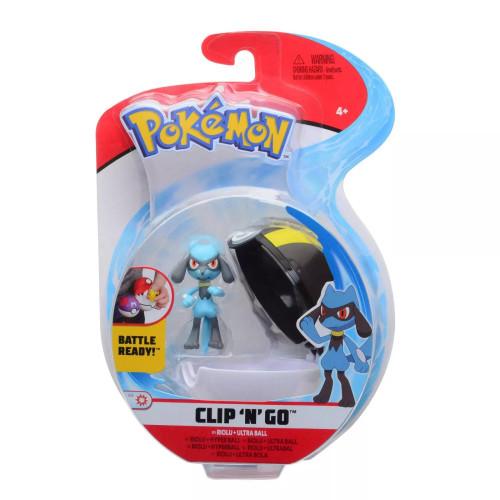 Pokemon Clip N Go - Riolu + Ultra Ball