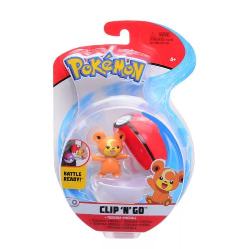 Pokemon Clip N Go - Teddiursa + Poke Ball