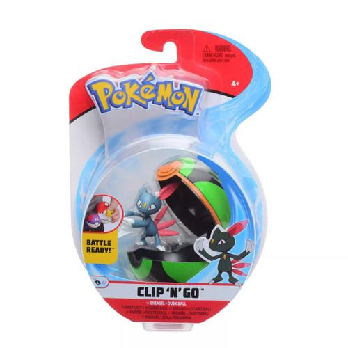 Pokemon Clip N Go - Sneasel + Dusk Ball